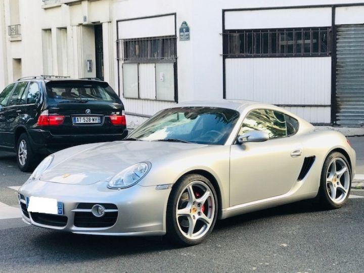 Porsche Cayman PORSCGE CAYMAN S 295 CV 58000 KMS ETAT NEUF Gris - 1