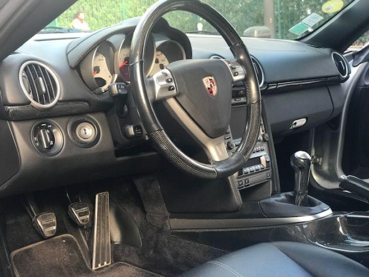 Porsche Cayman PORSCGE CAYMAN S 295 CV 58000 KMS ETAT NEUF Gris - 12