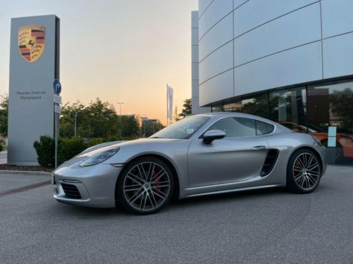 Porsche Cayman Porsche 718 Cayman S PDK, PASM, Sport Chrono Argent métallisé - 3
