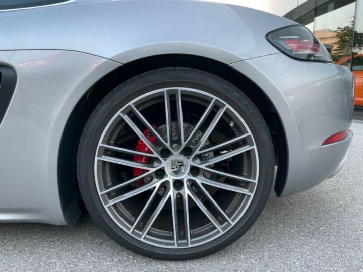 Porsche Cayman Porsche 718 Cayman S PDK, PASM, Sport Chrono Argent métallisé - 8