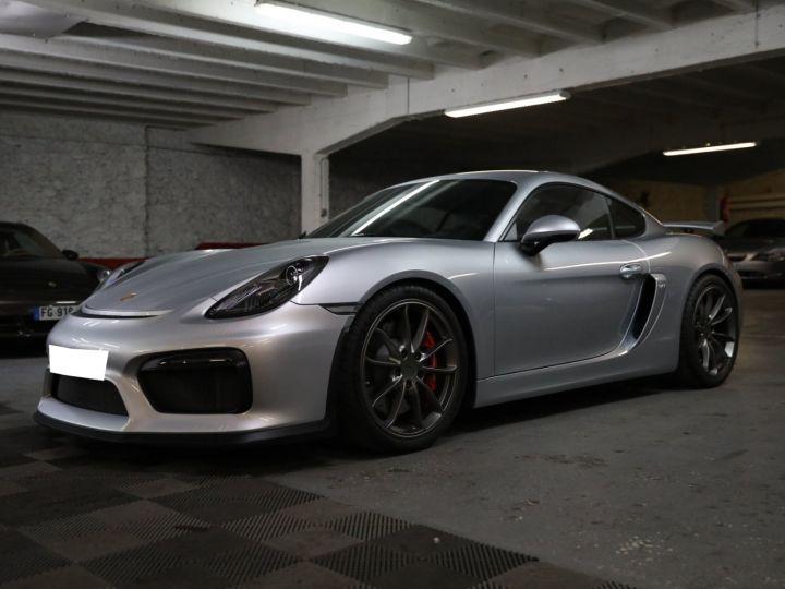 Porsche Cayman PORSCHE 981 CAYMAN GT4 APPROVED MARS 2022 / ETAT NEUF Gris Argent - 1