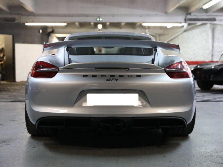 Porsche Cayman PORSCHE 981 CAYMAN GT4 APPROVED MARS 2022 / ETAT NEUF Gris Argent - 4