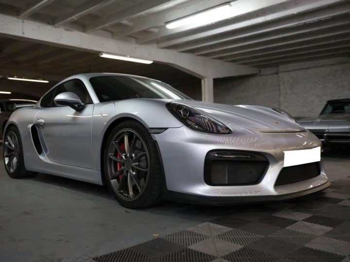 Porsche Cayman PORSCHE 981 CAYMAN GT4 APPROVED MARS 2022 / ETAT NEUF Gris Argent - 7