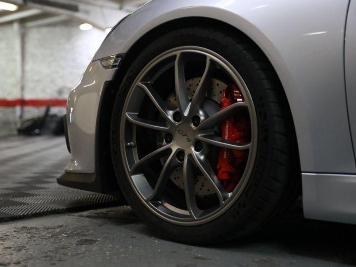Porsche Cayman PORSCHE 981 CAYMAN GT4 APPROVED MARS 2022 / ETAT NEUF Gris Argent - 8