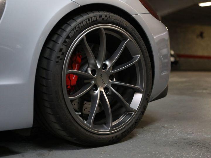 Porsche Cayman PORSCHE 981 CAYMAN GT4 APPROVED MARS 2022 / ETAT NEUF Gris Argent - 9