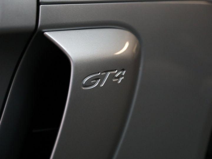 Porsche Cayman PORSCHE 981 CAYMAN GT4 APPROVED MARS 2022 / ETAT NEUF Gris Argent - 10