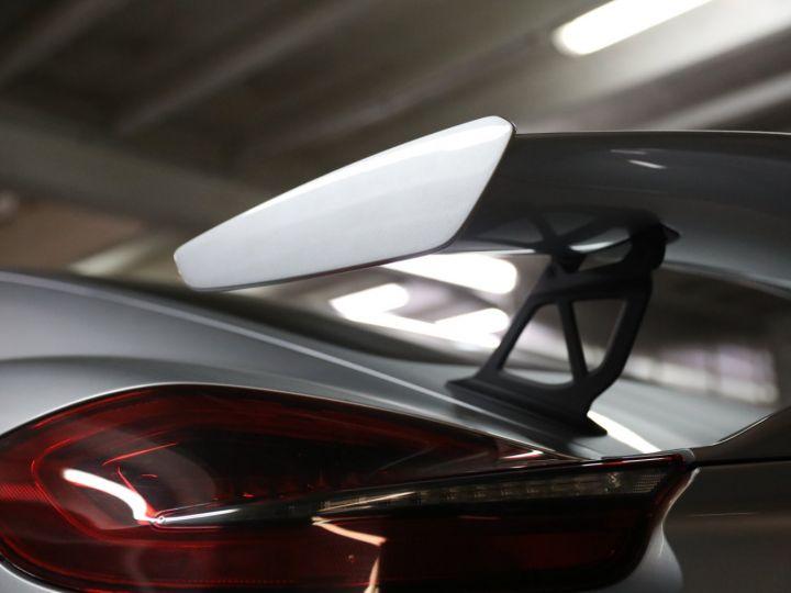 Porsche Cayman PORSCHE 981 CAYMAN GT4 APPROVED MARS 2022 / ETAT NEUF Gris Argent - 15