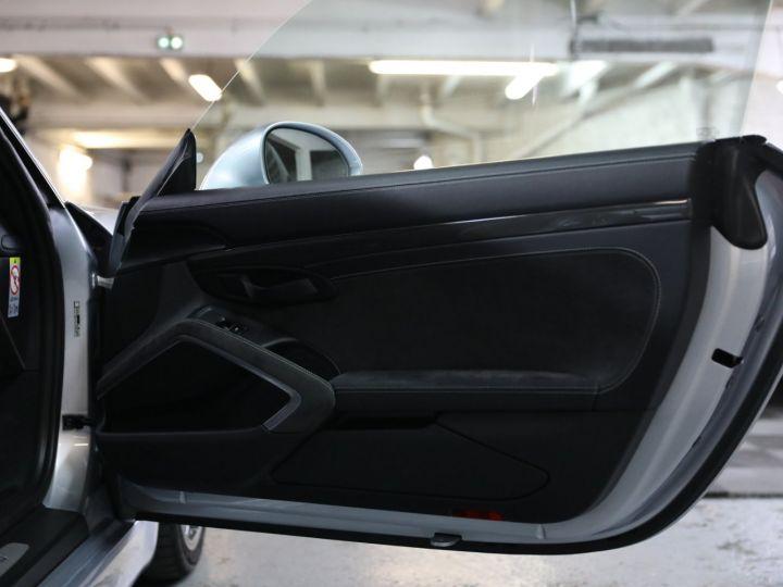 Porsche Cayman PORSCHE 981 CAYMAN GT4 APPROVED MARS 2022 / ETAT NEUF Gris Argent - 19