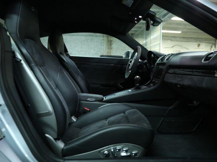 Porsche Cayman PORSCHE 981 CAYMAN GT4 APPROVED MARS 2022 / ETAT NEUF Gris Argent - 21