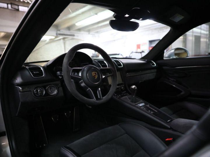 Porsche Cayman PORSCHE 981 CAYMAN GT4 APPROVED MARS 2022 / ETAT NEUF Gris Argent - 35
