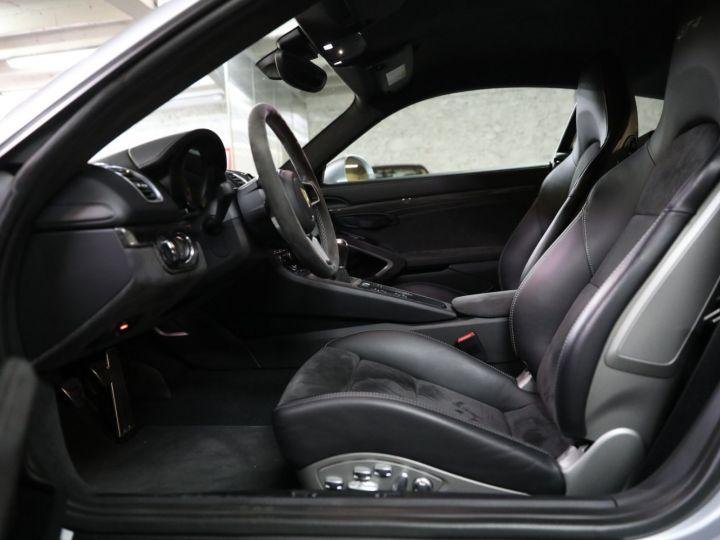 Porsche Cayman PORSCHE 981 CAYMAN GT4 APPROVED MARS 2022 / ETAT NEUF Gris Argent - 36