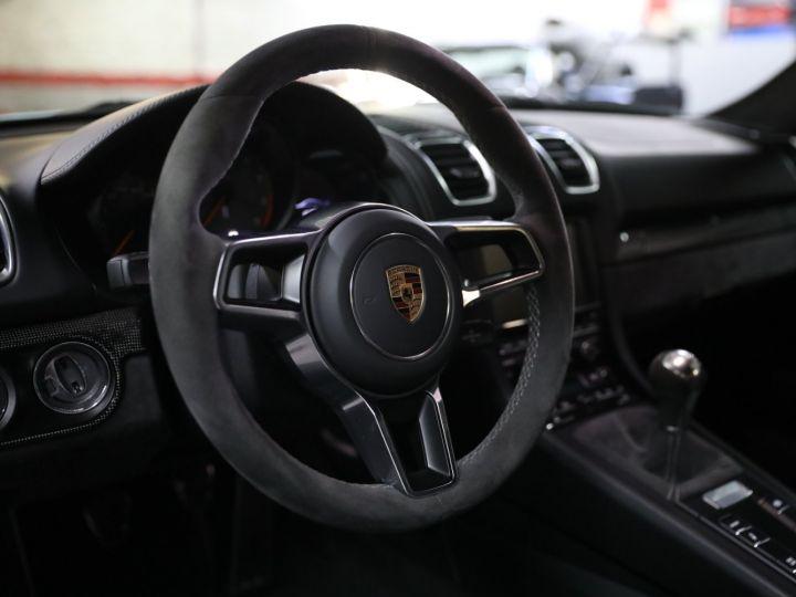 Porsche Cayman PORSCHE 981 CAYMAN GT4 APPROVED MARS 2022 / ETAT NEUF Gris Argent - 39