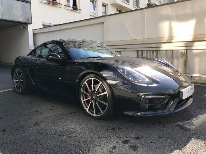 Porsche Cayman Porsche Cayman 981 GTS (981) Pack Carbone /37100 Kms Noir - 3