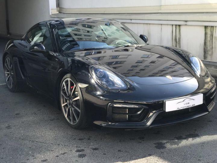 Porsche Cayman Porsche Cayman 981 GTS (981) Pack Carbone /37100 Kms Noir - 6
