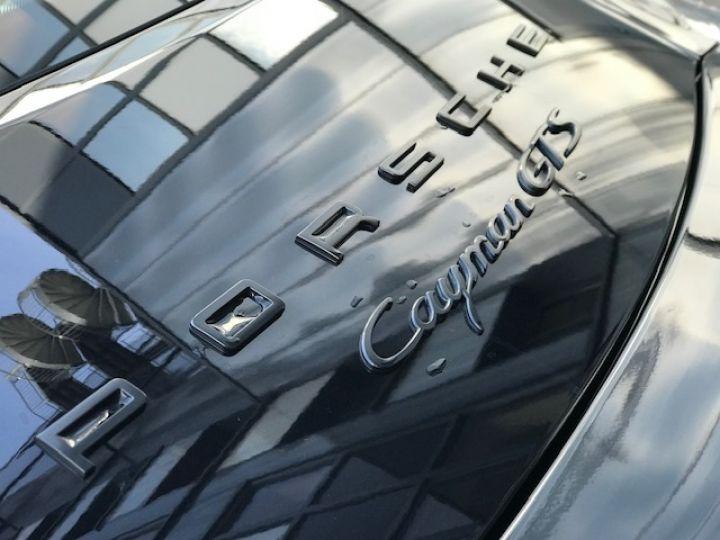 Porsche Cayman Porsche Cayman 981 GTS (981) Pack Carbone /37100 Kms Noir - 18