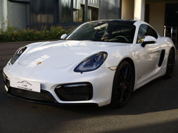 Porsche Cayman PORSCHE CAYMAN GTS PDK 21500 KMS ETAT NEUF Blanc - 1