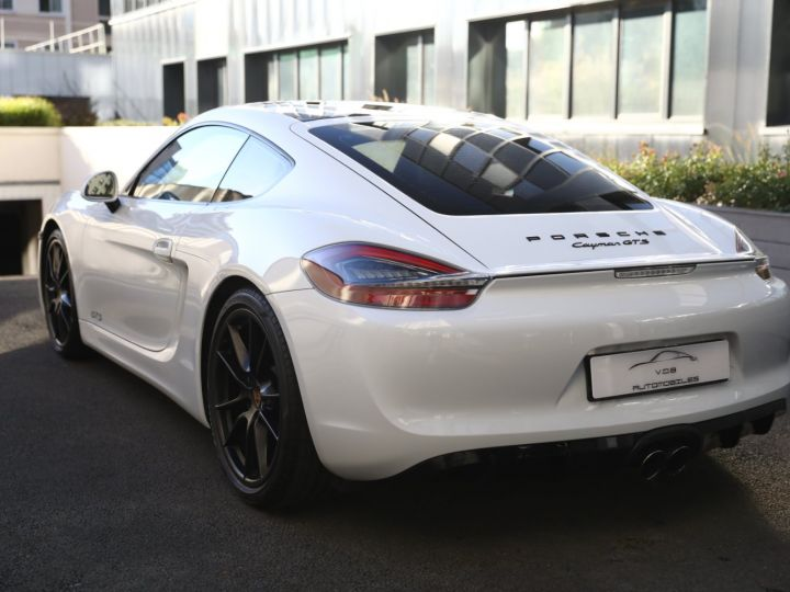 Porsche Cayman PORSCHE CAYMAN GTS PDK 21500 KMS ETAT NEUF Blanc - 4