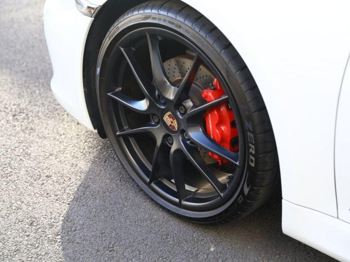 Porsche Cayman PORSCHE CAYMAN GTS PDK 21500 KMS ETAT NEUF Blanc - 8