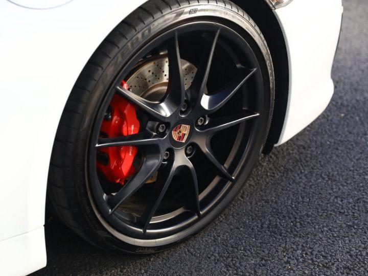 Porsche Cayman PORSCHE CAYMAN GTS PDK 21500 KMS ETAT NEUF Blanc - 15