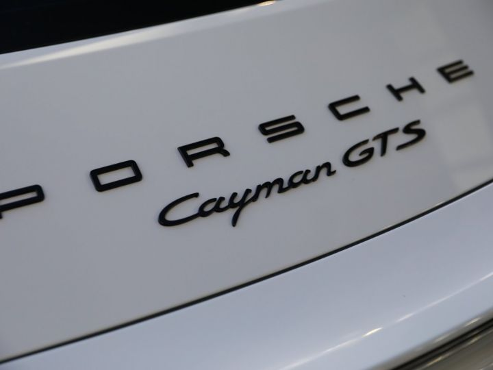 Porsche Cayman PORSCHE CAYMAN GTS PDK 21500 KMS ETAT NEUF Blanc - 20