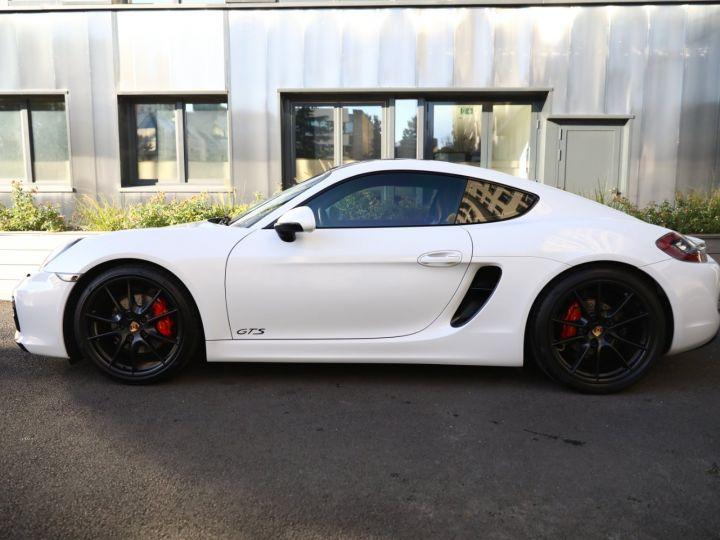 Porsche Cayman PORSCHE CAYMAN GTS PDK 21500 KMS ETAT NEUF Blanc - 21