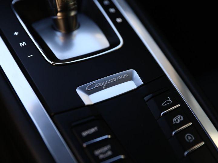 Porsche Cayman PORSCHE CAYMAN GTS PDK 21500 KMS ETAT NEUF Blanc - 33