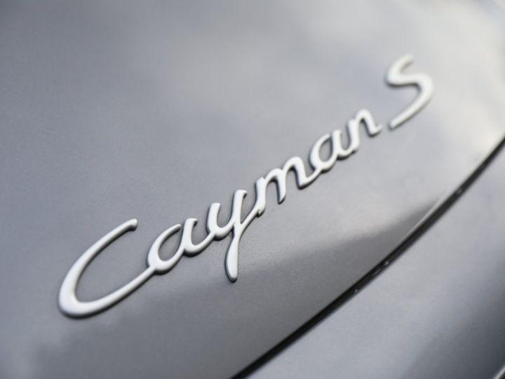 Porsche Cayman PORSCHE CAYMAN S 295 CV BOITE MECANIQUE Gris Anthracite - 12