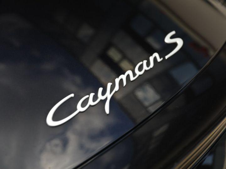 Porsche Cayman PORSCHE CAYMAN S 3.4 320CV PDK / CHRONO /PASM Noir - 15