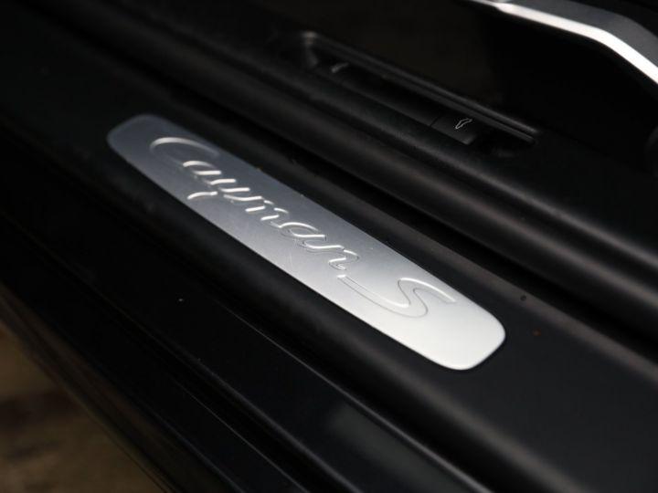 Porsche Cayman PORSCHE CAYMAN S 3.4 320CV PDK / CHRONO /PASM Noir - 26