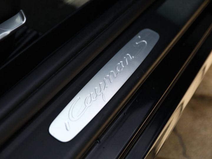 Porsche Cayman PORSCHE CAYMAN S 3.4 320CV PDK / CHRONO /PASM Noir - 33