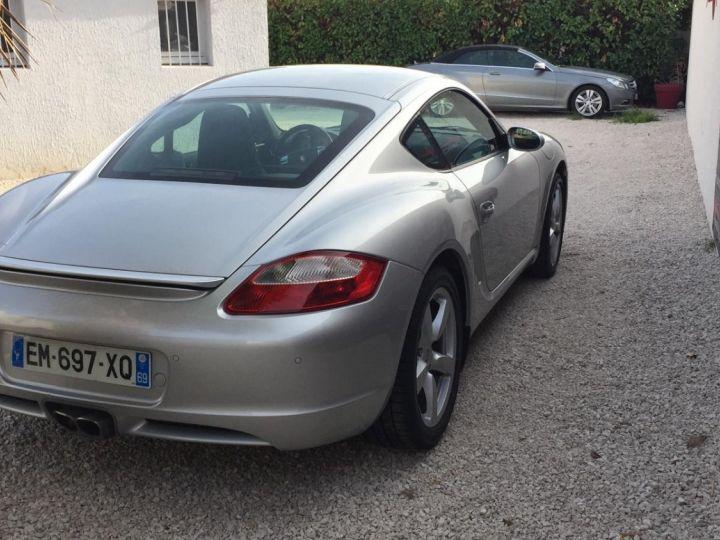 Porsche Cayman PORSCHE CAYMAN TYPE 987 (987) 3.4 295 S TIPTRONIC S Gris Metal - 3