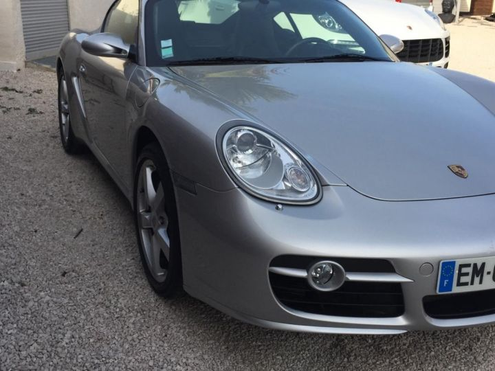 Porsche Cayman PORSCHE CAYMAN TYPE 987 (987) 3.4 295 S TIPTRONIC S Gris Metal - 4