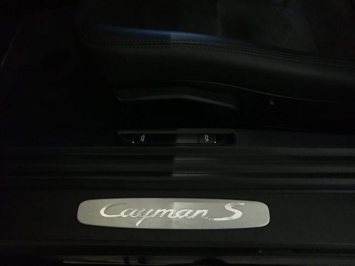 Porsche Cayman S 3.4 325 CV PDK Noir - 13
