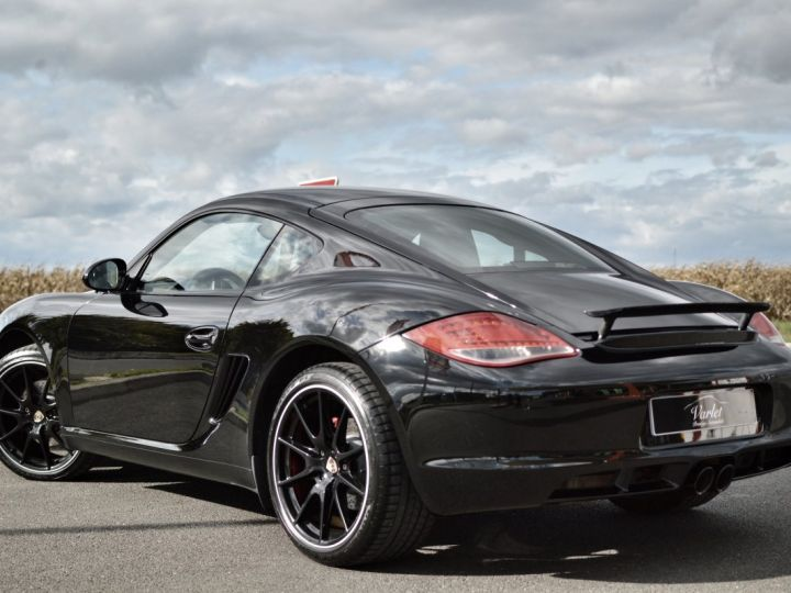 Porsche Cayman S 987.2 3.4 330ch BLACK EDITION LIMITEE Noir - 6