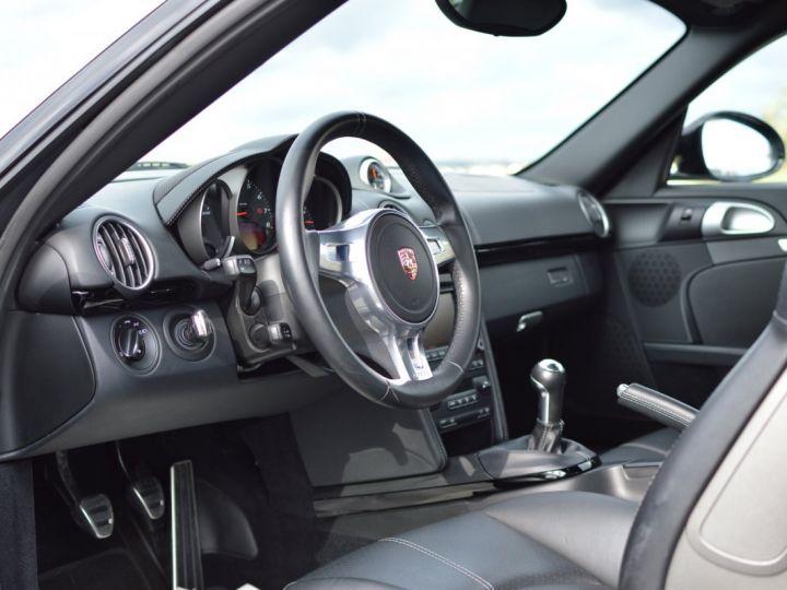 Porsche Cayman S 987.2 3.4 330ch BLACK EDITION LIMITEE Noir - 7