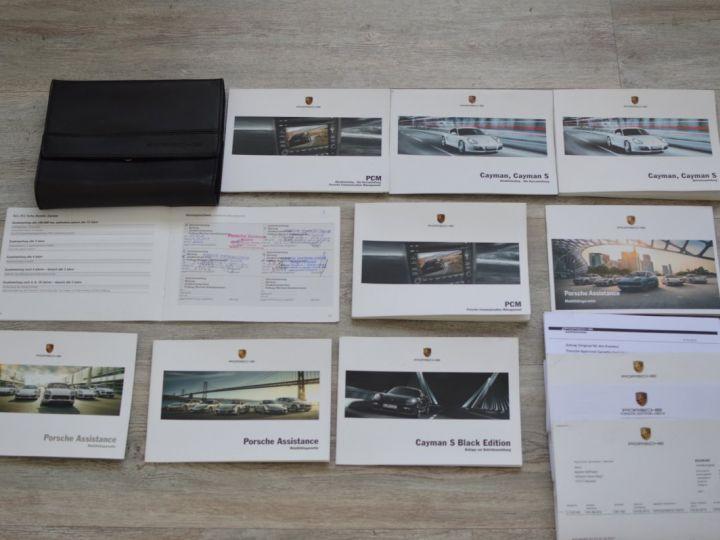 Porsche Cayman S 987.2 3.4 330ch BLACK EDITION LIMITEE Noir - 21