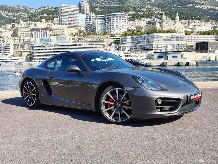 Porsche Cayman S PDK 325 Cv TYPE 981 Gris Quartz Métal Vendu - 7
