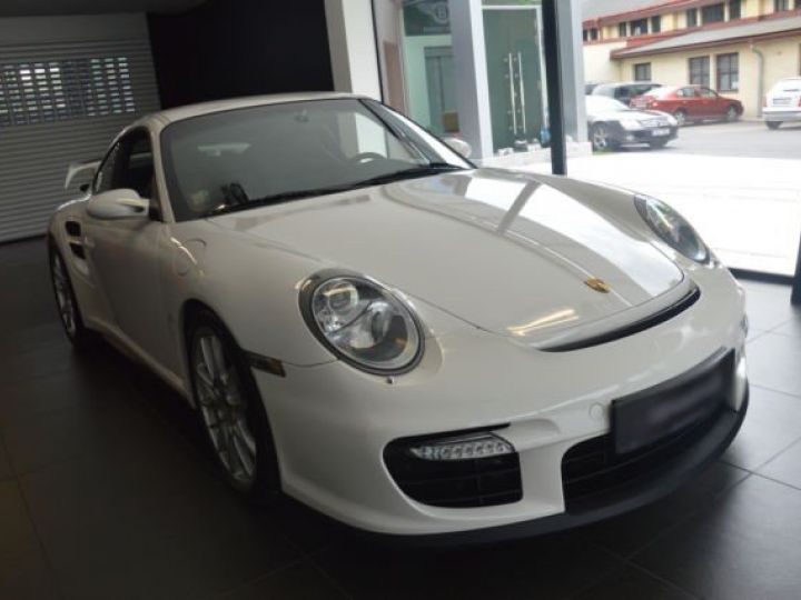Porsche GT2 1ERE MAIN BLANC - 1