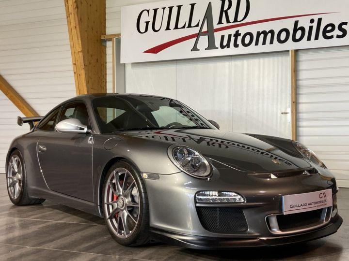 Porsche GT3 997 3.8 435ch BVM6 GRIS FONCE - 5