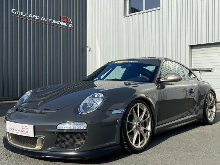 Porsche GT3 997 GT3 RS 3.8 450ch BVM6 GRIS FONCE - 1