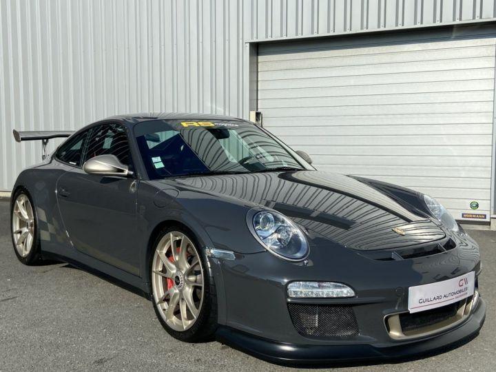 Porsche GT3 997 GT3 RS 3.8 450ch BVM6 GRIS FONCE - 4