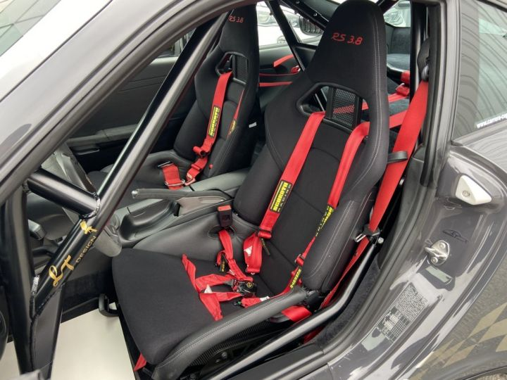 Porsche GT3 997 GT3 RS 3.8 450ch BVM6 GRIS FONCE - 16