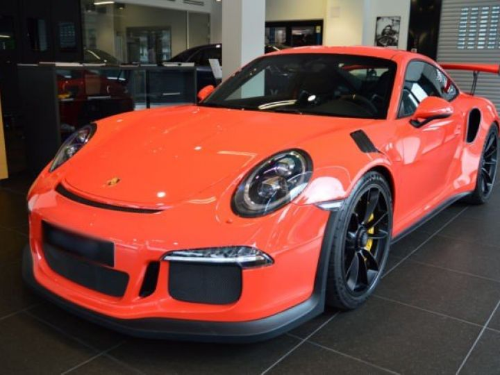 Porsche GT3 RS rouge - 1