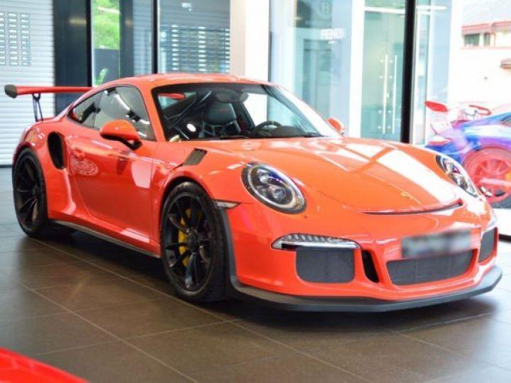 Porsche GT3 RS rouge - 2