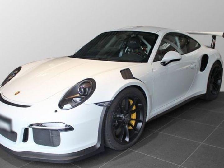 Porsche GT3 RS clubsport blanc - 1