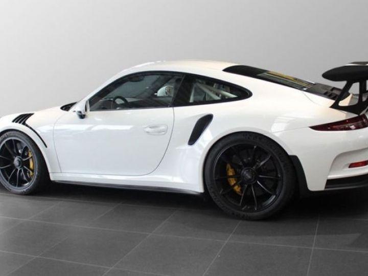 Porsche GT3 RS clubsport blanc - 2