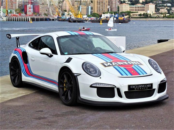 Porsche GT3 RS PDK 500 CV MARTINI RACING - MONACO Blanc - 3