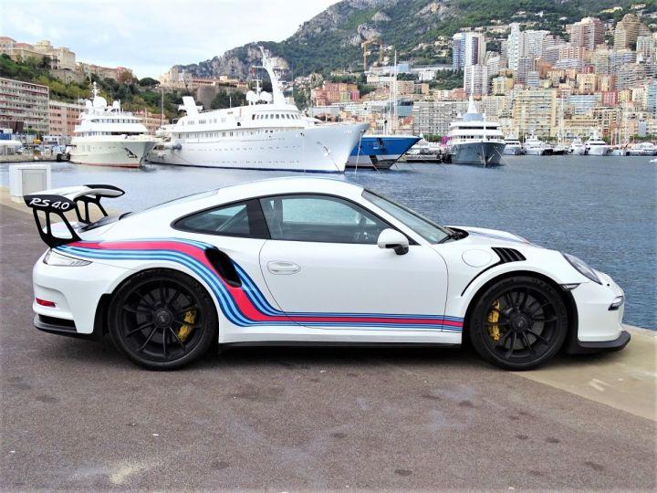 Porsche GT3 RS PDK 500 CV MARTINI RACING - MONACO Blanc - 4