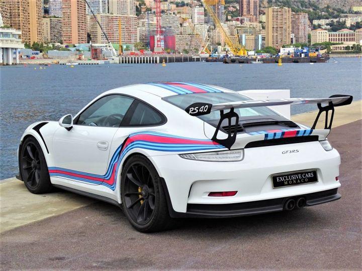 Porsche GT3 RS PDK 500 CV MARTINI RACING - MONACO Blanc - 6