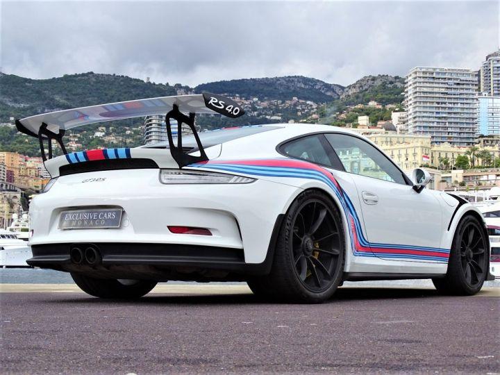 Porsche GT3 RS PDK 500 CV MARTINI RACING - MONACO Blanc - 16